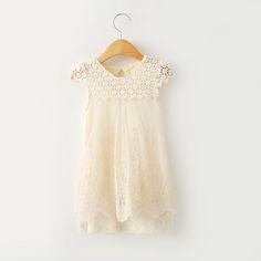 $17.90 (Buy here: https://alitems.com/g/1e8d114494ebda23ff8b16525dc3e8/?i=5&ulp=https%3A%2F%2Fwww.aliexpress.com%2Fitem%2FNew-2015-Children-Kids-Girl-s-Casual-Dresses-Spring-Summer-Girls-Lace-Dress-Princess-Mini-Dress%2F32314251354.html ) New 2016 Children Kids Girl's Casual Dresses Spring Summer  Girls Lace Dress Princess Mini Dress Kid Baby Clothes for just $17.90