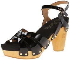 #saucy Flogg Women's Fain Platform Sandal,Black,10 M US
