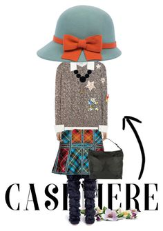 """""""Rock the cashmere"""" by ajkc ❤ liked on Polyvore featuring Gianvito Rossi, Hervé Léger, Vince, Dolce&Gabbana, Abro and cashmere"""