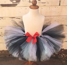 Alice in Wonderland 1st Birthday Sewn Tutu by PartyDecorandMoore