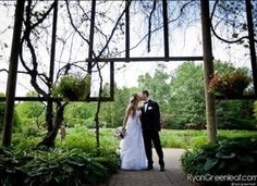 Real Weddings of the Year, 2012, Cantigny Gardens outside of Chicago.  Very serene!