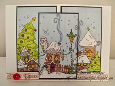 The little land of Me! Make it Crafty - last minute Christmas  Christmas Card