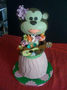 hula monkey