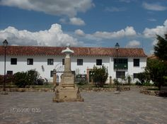 Paisaje colombiano: Villa de Leyva, Boyacá.