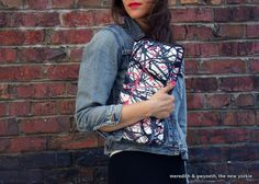 {DIY} Weekend Project Plan: Fold-Over Clutch