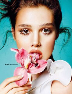 love concept of flower, not a fan of eye lashes.