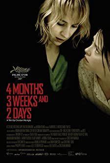 4 Months, 3 Weeks and 2 Days 4 Months, 3 Weeks, Film Movie, Movies, Films, Movie Scene, Film Books, 8 Bit, Film Posters
