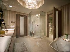 Elevate life's daily rituals into moments of private indulgence.  #MarinaPalms #InteriorDesign #Luxury #LuxuryRealEstate #bathroom #decor #fabulous #residences #home #love #elegant #spectacular #finishes #beauty #lifestyle #living