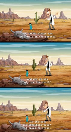 Good question about cartoon logic  - funny pictures #funnypictures