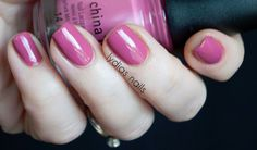 Life is Rosy is a blushed mauve - from he Advant Garden collection.