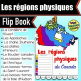 Physical Regions of Canada Flip Book in French - Les régio Physique, Canada, Flip, Teacher Pay Teachers, Student, Activities, Education, Books, French