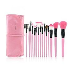 15 Makeup Brushes Set Synthetic Hair Face / Lip / Eye ** Continue to the product at the image link.