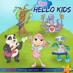 The Hello Kids - Spanish Volume 1
