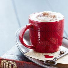 Valentine's Day Mug, 14 fl oz. $12.95 at StarbucksStore.com  I love this years cup!