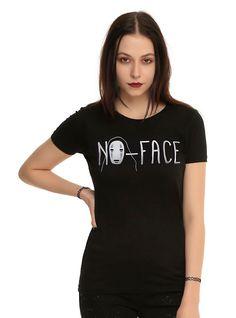 Studio Ghibli Spirited Away No-Face Girls T-Shirt,