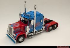 Optimus Prime in Lego
