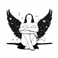 """""""She made broken look beautiful and strong look invincible. She walked with the Universe on her shoulders and made it look like a pair of wings.""""  Ariana Dancu"""