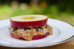 perfect fall apple recipes like this awesome apple sandwhich! (Red Apple Recipes)