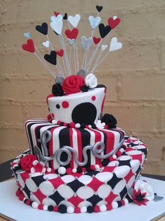 Engagment Mad Hatter Cake | Flickr - Photo Sharing!