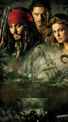 Pirates of the Caribbean: Dead Man's Chest Phone Wallpaper Wallpaper World, Disney Wallpaper, Pirate Art, Pirate Life, Davy Jones, Jack Sparrow Wallpaper, Jack Sparrow Quotes, John Depp, Image Pinterest