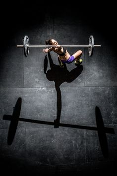 Beautiful workout photography! Barbell Turkish getup. Balance. Core strength and…