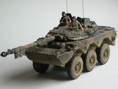 AMX 10RC Wheeled Armoured Reconnaissance Vehicle (France)