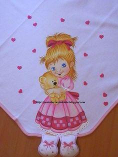 Fraldas para bebês com perninha e pintura em tecido