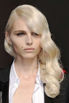 Andrej Pejic, I find him really fascinating! He makes a stunning woman!