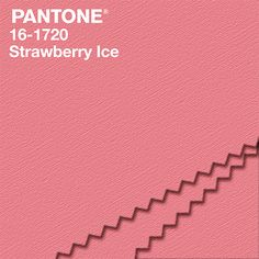 """""""Aptly named, PANTONE 16-1720 Strawberry Ice is suggestive of a cooling and refreshing delicacy, yet its warmth as a color is quite appealing. Subtle and charming, Strawberry Ice is an ideal shade for Spring/Summer 2015."""" #NYFW  #FashionColorReport #PANTONE -- Leatrice Eiseman Executive Director, Pantone Color Institute®"""