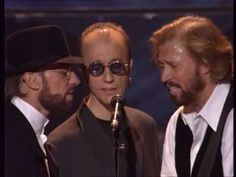 Bee Gees - In The Morning (live, 1997) / I get chills and tears when they sing at one mic.