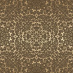 Gold background, seamless pattern