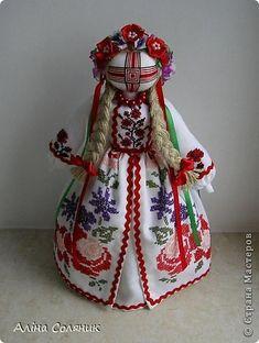 Украинская авторская кукла-мотанка. Прекрасный оберег и украшение для Вашего дома!