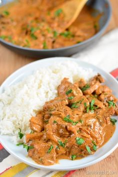 Slimming Eats - Beef Stroganoff - Gluten Free, Slimming World (SP) and Weight Watchers friendly