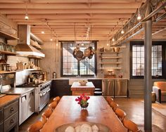 gorgeous large commercial kitchen - for event barn?