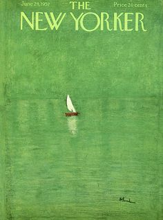 The New Yorker - Saturday, June 1957 - Issue # 1689 - Vol. 33 - N° 19 - Cover by : Abe Bimbaum The New Yorker, New Yorker Covers, Poster Wall, Poster Prints, Graphic Design Illustration, Illustration Art, Bedroom Posters, Jolie Photo, Illustrations And Posters