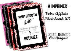 Des affiches Photobooth [A Imprimer]
