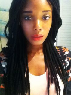 Yarn locs...This is cute too.  Maybe for sissy
