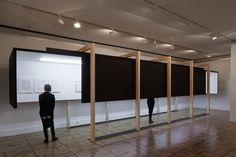 """cadaval & Solà-Morales / allestimento al Museo Casa de la Moneda nell'ambito della mostra """"Susana Solano Trazos Colgados"""" / Madrid  / 2013"""