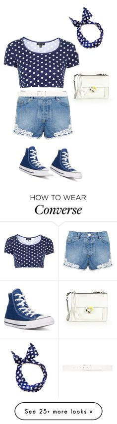 """""""Untitled #1168"""" by sylviabunny on Polyvore featuring Miss Selfridge, Topshop, Converse, Theory, Salvatore Ferragamo, women's clothing, women, female, woman and misses"""