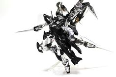 GUNDAM GUY: 1/100 Gundam Astray Silver Frame 4th Cancer - Custom Build