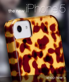 IPhone 5 Tortoise shell case