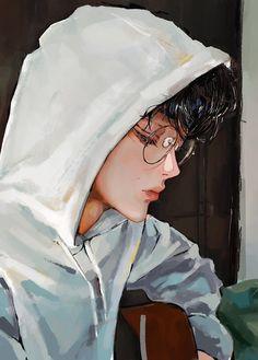 "Cris ꪔ̤̮ on Twitter: ""I still remember third of December , me in your sweater… "" Anime Manga, Anime Art, Cute Emoji Wallpaper, Funny Kpop Memes, Dream Art, First Art, Digital Portrait, Kpop Fanart, Dark Fantasy Art"