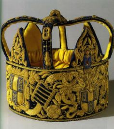 goldwork crown for the Worshipful Company of Girdlers