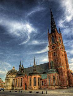 "#PinStockholm Riddarholmen Church, Stockholm. Burial site of the ""Meteor King"""