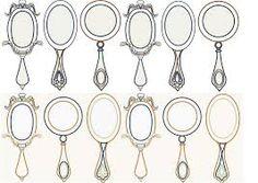 surealist hand mirrors - Google Search