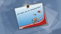 Invitaciones de los Aviones de Disney