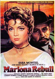 Мариона Ребулл (фильм, 1947) Sara Montiel, Che Guevara, Movies, Movie Posters, Films, Film Poster, Popcorn Posters, Cinema, Poster