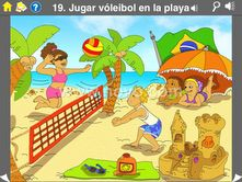 The Noyo Spanish Vocab app for iPad is a supplemental vocabulary builder for beginning Spanish learners. It is available from iTunes and you can read more about the application on the Noyo website.