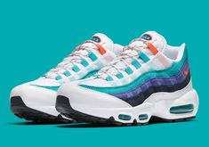 the best attitude cf7e7 6696d More Summer Vibes Appear On The Nike Air Max 95 Converse, Vans, Nike Air