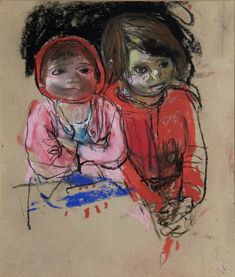 BBC Arts - BBC Arts - How the unflinching art of Joan Eardley captures Scotland at its rawest Gallery Of Modern Art, Art Gallery, Popular Artists, Famous Artists, Glasgow School Of Art, Sense Of Place, Abstract Portrait, Old Art, Artist Art